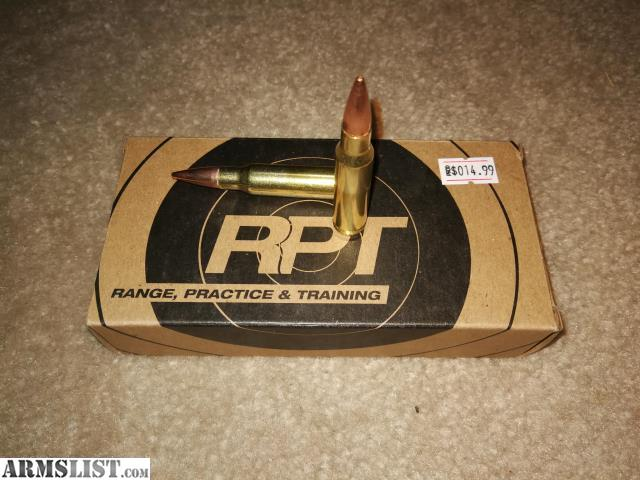 ARMSLIST - For Sale: 308 Winchester 150gr FMJ ammo