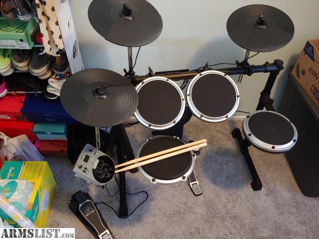armslist for trade electronic drum set for accessories or ammo. Black Bedroom Furniture Sets. Home Design Ideas