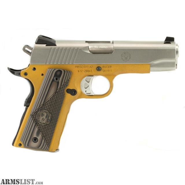 ARMSLIST - For Sale: SPEACIAL! Ruger, SR1911, Centerfire Pistol, 45 ...