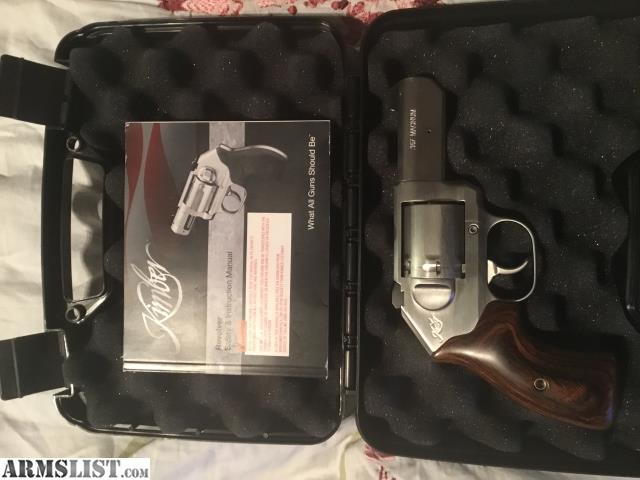 ARMSLIST - For Sale: Kimber K6S 3 inch stainless 357 mag