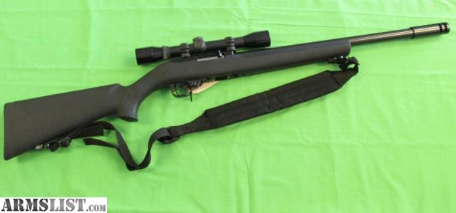 ARMSLIST - For Sale: Ruger 10/22 Target Rifle - Hogue stock