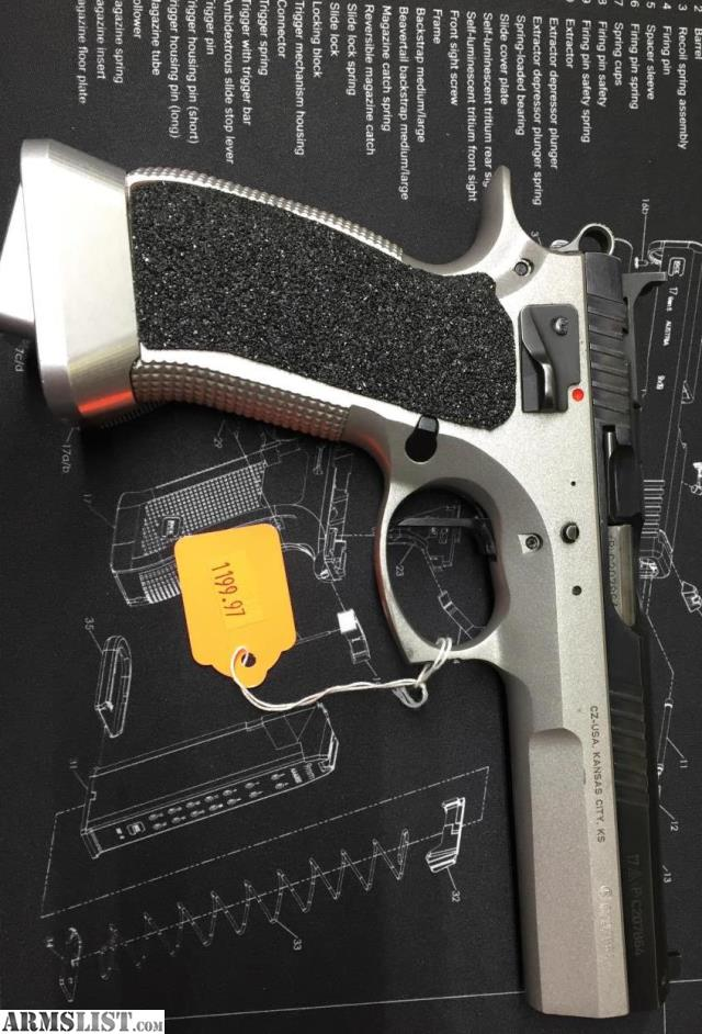 ARMSLIST - For Sale: CZ 75 Tactical Sport (USED)