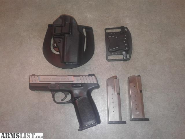 ARMSLIST - For Sale/Trade: SD40VE with 3 Mags and Blackhawk