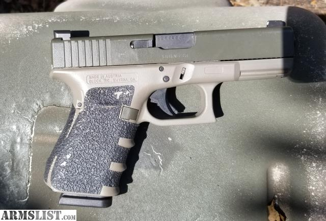 ARMSLIST - For Sale: Custom duracoat gen 4 glock 19