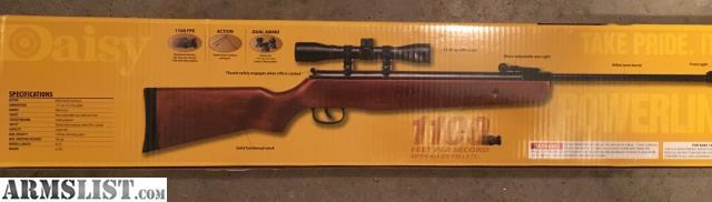 ARMSLIST - For Sale: NIB Daisy pellet air rifle