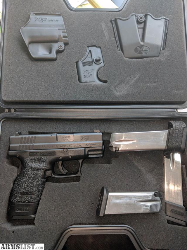 ARMSLIST - For Sale: Springfield XD SA-XD -  40 Sub Compact