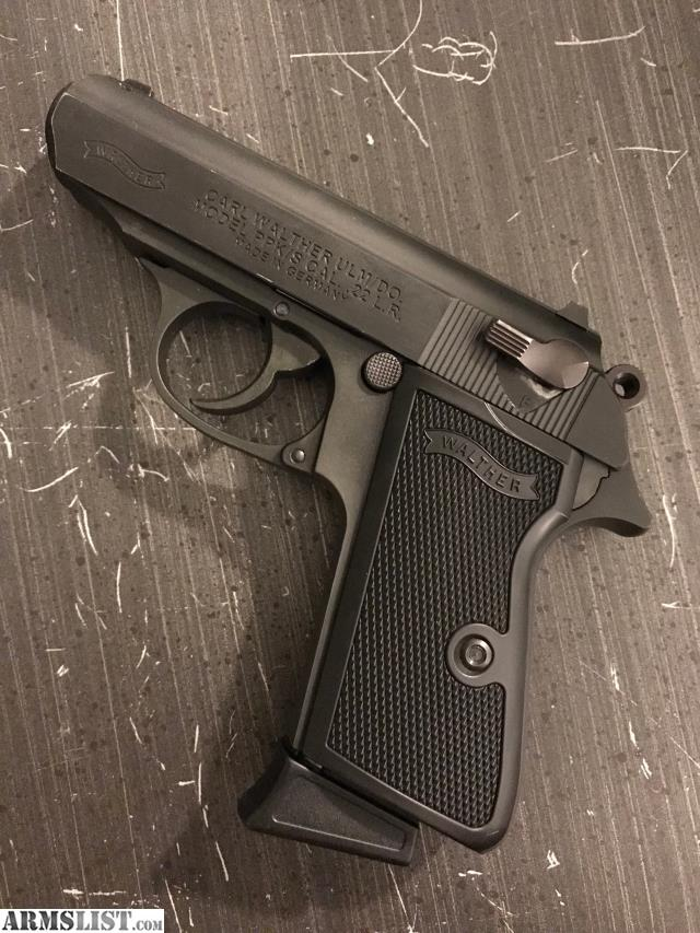ARMSLIST - For Sale: New Production Walther PPK/S in  22lr