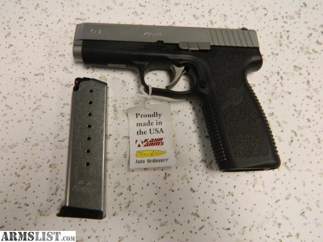 ARMSLIST - For Sale: KAHR 9 MM PISTOL IN CASE MODEL CT9