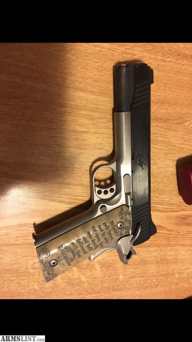 ARMSLIST - For Trade: Kimber 1911 9mm