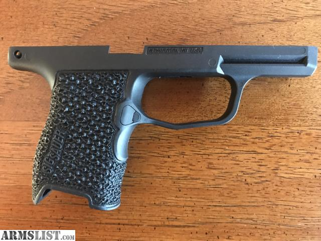 ARMSLIST - For Sale: Sig Sauer p365 Custom Stippled Grip Module