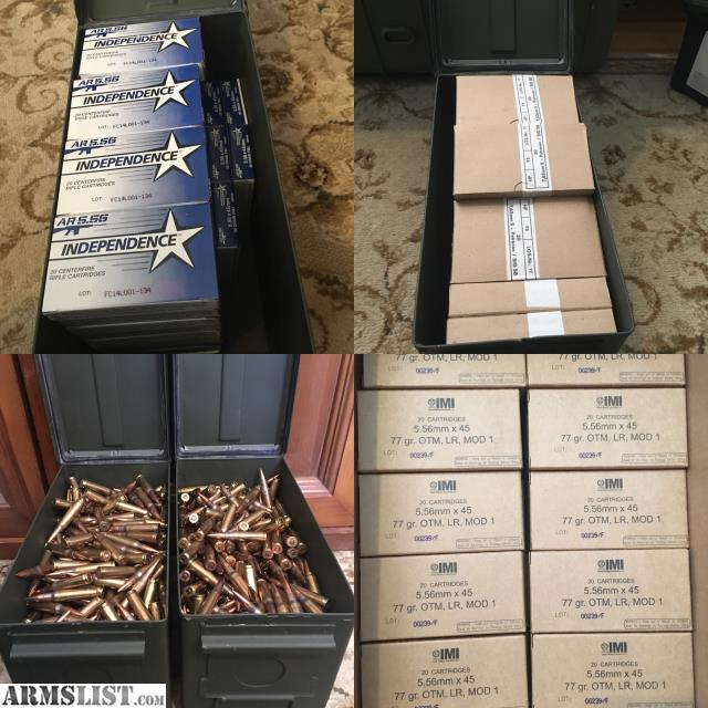 ARMSLIST - For Sale: Ammo for sale (5 56,  308)