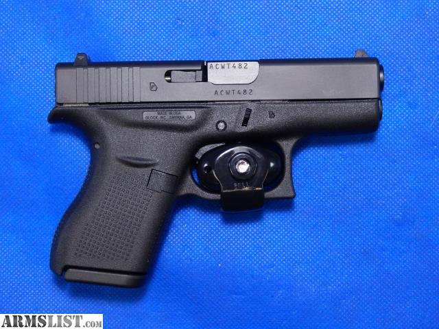 ARMSLIST - For Sale: Glock 42 | 380 ACP | Pistol | W/Extras