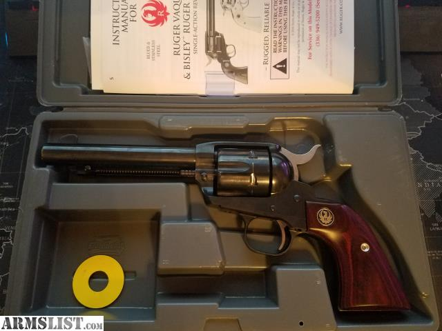 ARMSLIST - For Sale: Ruger New Vaquero  357 - 5 5 inch - w