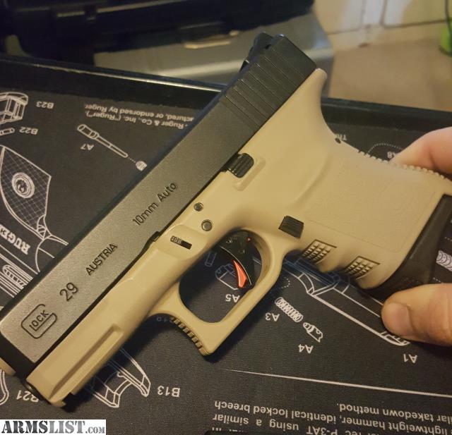 ARMSLIST - For Sale/Trade: Glock 29 SF Gen3 FDE 10mm