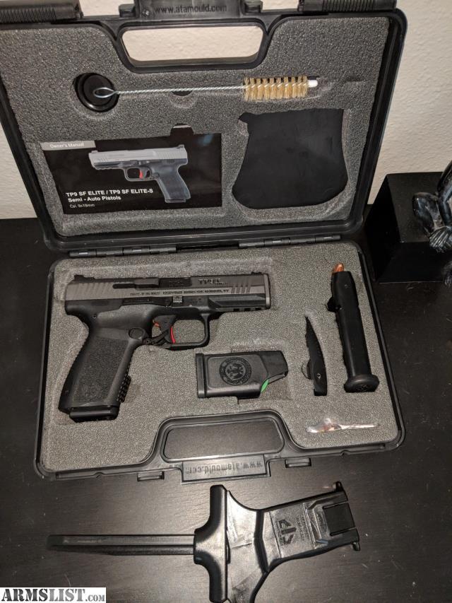 ARMSLIST - For Sale: Canik TP9SF Elite S 9MM