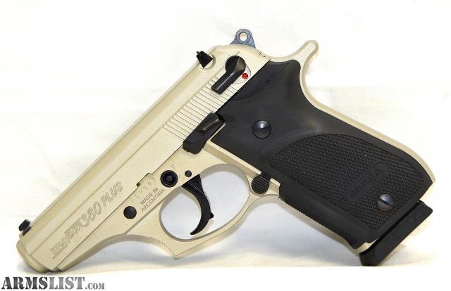 ARMSLIST - For Sale: USED BERSA Thunder 380 Plus Nickel 380ACP