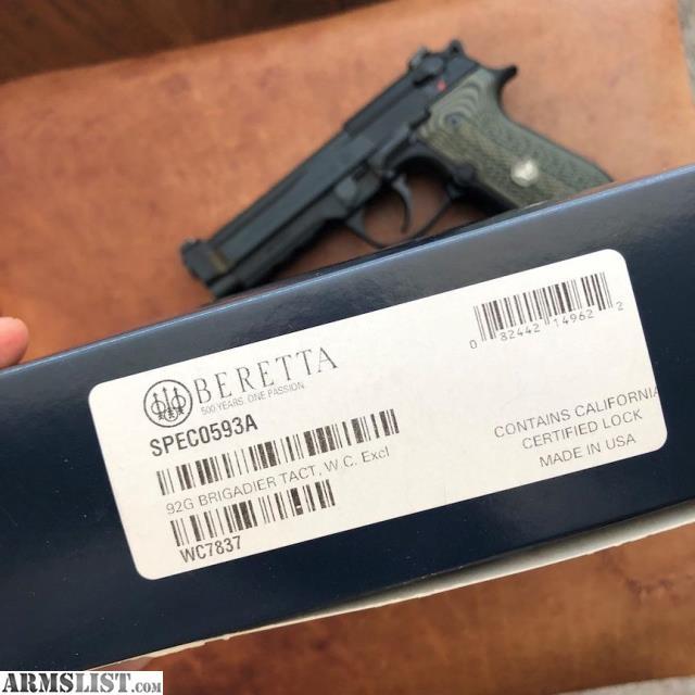 ARMSLIST - For Sale: Beretta 92G Brigadier Tactical Wilson Combat 9mm