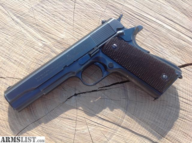 ARMSLIST - For Sale: Colt 1911A1 US Army 1940 CSR