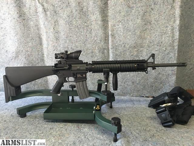 ARMSLIST - For Sale: FN Military Collector M16A4 clone ... M16a4 Acog