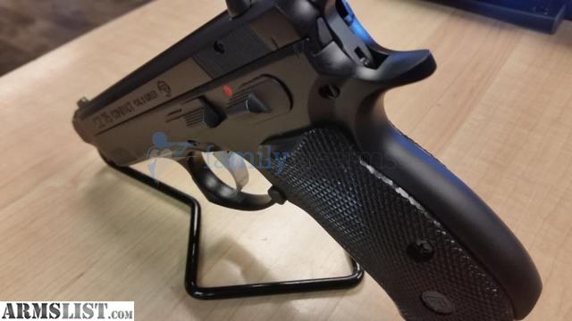 For Sale CZ 75 Compact Semi Auto Handgun 9mm Luger 91190