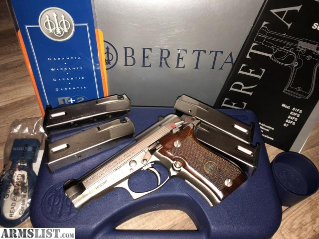 ARMSLIST - For Sale: Italian made Beretta 84FS Cheetah