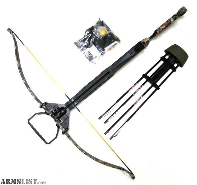 ARMSLIST - For Sale: Excalibur Axiom SMF Recurve Crossbow