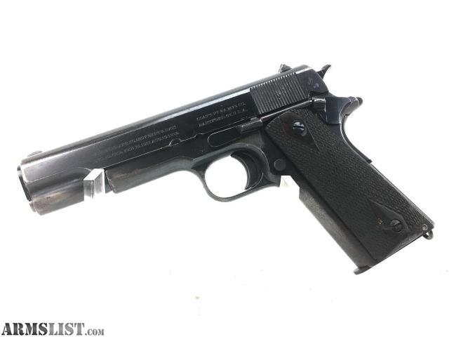 ARMSLIST - For Sale: Colt 1911 Manufactured 1917