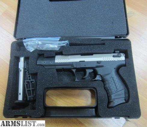 ARMSLIST - For Sale: Walther P22 in box 22LR