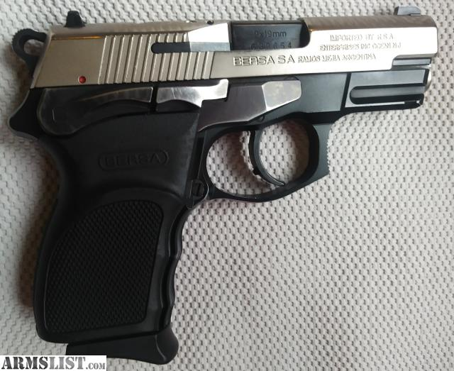 ARMSLIST - For Sale: Bersa Thunder 9 Ultra Compact Pro