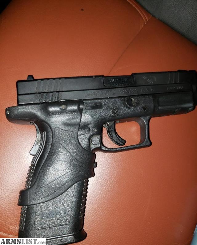ARMSLIST - For Sale/Trade: Springfield XD  45 with Crimson