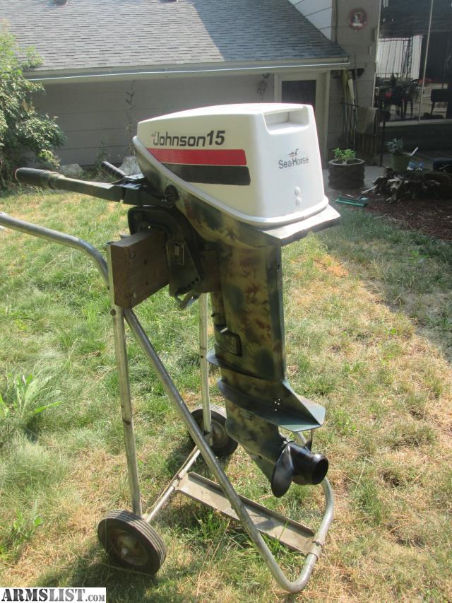 ARMSLIST - For Sale/Trade: 1980's Model EVINRUDE 15HP OUTBOARD MOTOR