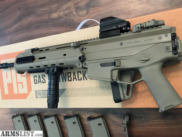 ARMSLIST - For Sale/Trade: Custom PTS Masada GBB FDE Package