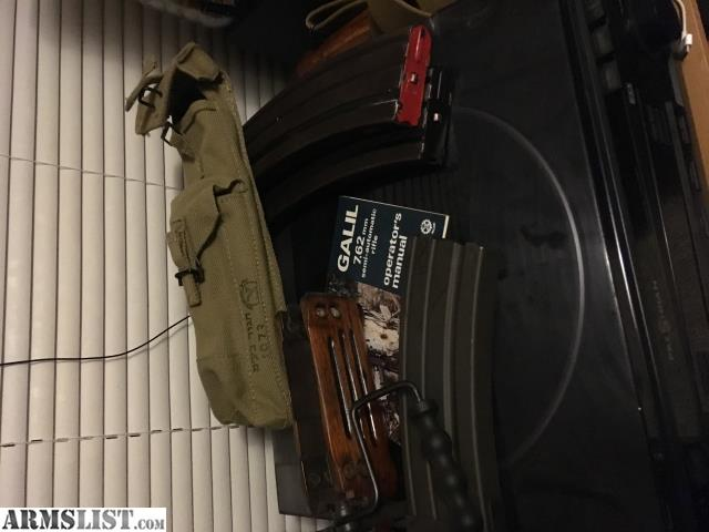 ARMSLIST - For Trade: Israeli galil package!!!
