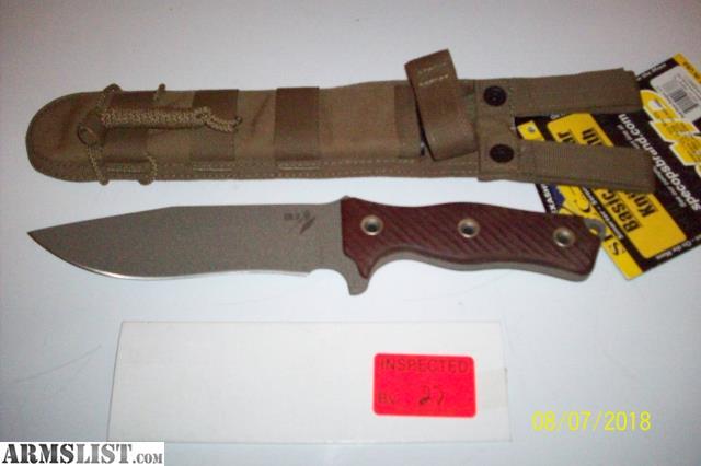 ARMSLIST - For Sale: BUSSE COMBAT CUSTOM KNIFE
