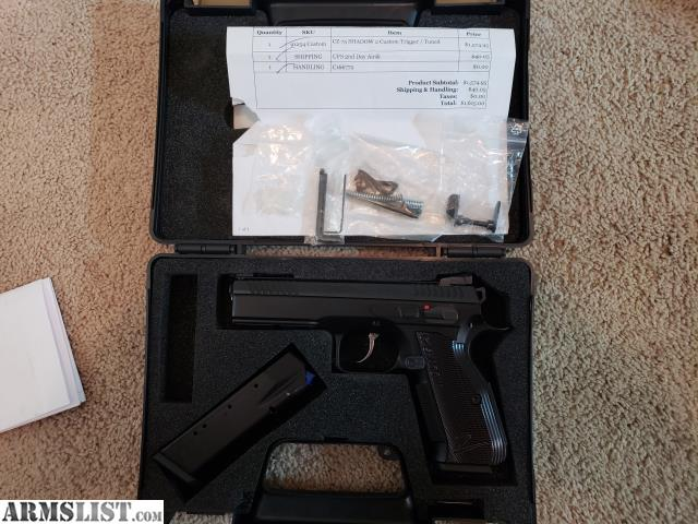ARMSLIST - For Sale/Trade: CZ Shadow 2 Custom Shop tuned and trigger