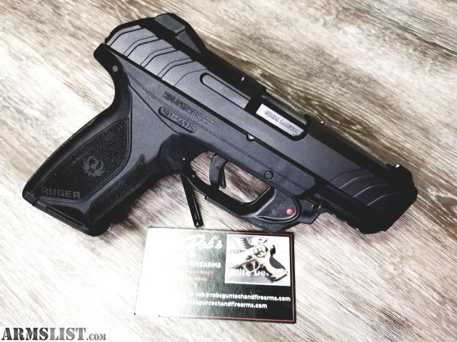 ARMSLIST - For Sale: RUGER SECURITY9 WITH 3DOT LASER