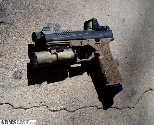 ARMSLIST - For Sale: Custom G17 Glock 17 P80 PF940V2 9mm FDE