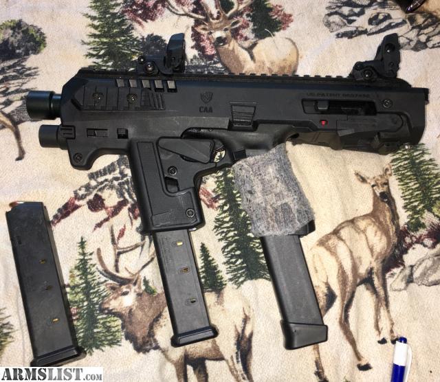 ARMSLIST - For Sale: SOG PDW Glock 9mm Carbine