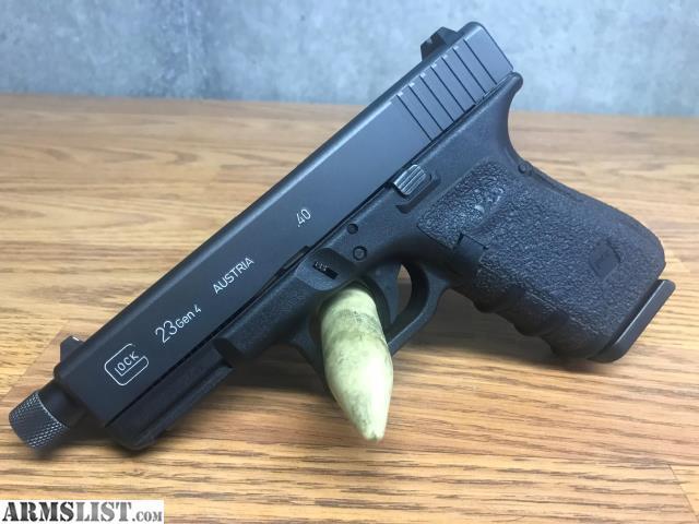 Glock 21 Threaded Conversion Barrel