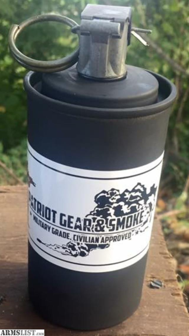 ARMSLIST - For Sale: Patriot Gear & Smoke CM-18 Smoke Grenades