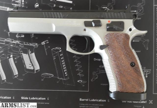 ARMSLIST - For Sale: New CZ 75 TS (Tactical Sport) SAO 9mm $1235 OTD