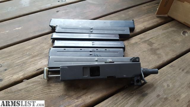 ARMSLIST - For Sale: Mac 10 full auto 9mm upper