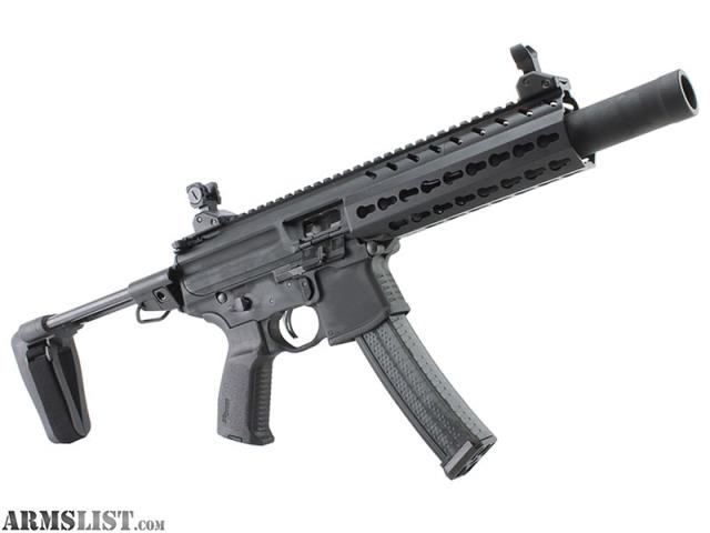 ARMSLIST - For Sale: SIG MPX-K TACOPS PST 9MM 30RD WITH FREE