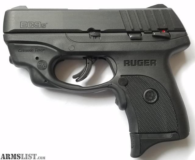 ARMSLIST - For Sale: Ruger ECS9 9mm with Crimson Trace Laser! NEW