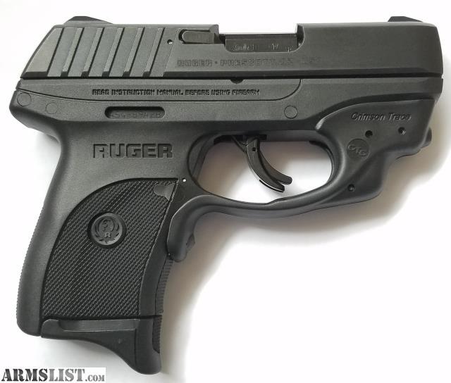 ARMSLIST - For Sale: Ruger ECS9 9mm with Crimson Trace Laser