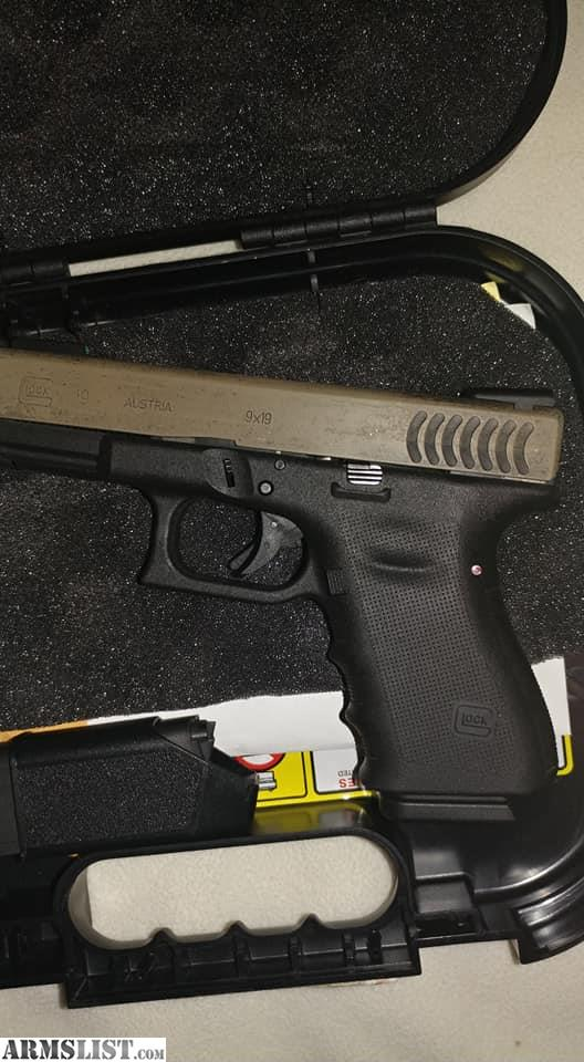 Armslist for sale trade rare fish gill glock19 rtf2 for Fish mounts for sale