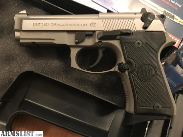 ARMSLIST - For Sale/Trade: New Beretta 92FS Compact INOX