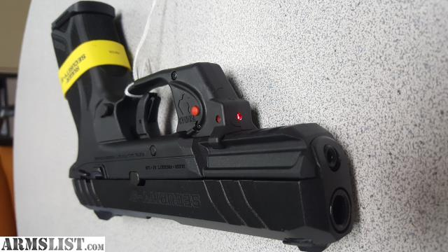 ARMSLIST - For Sale: RUGER SECURITY 9 W/LASER TS NIB