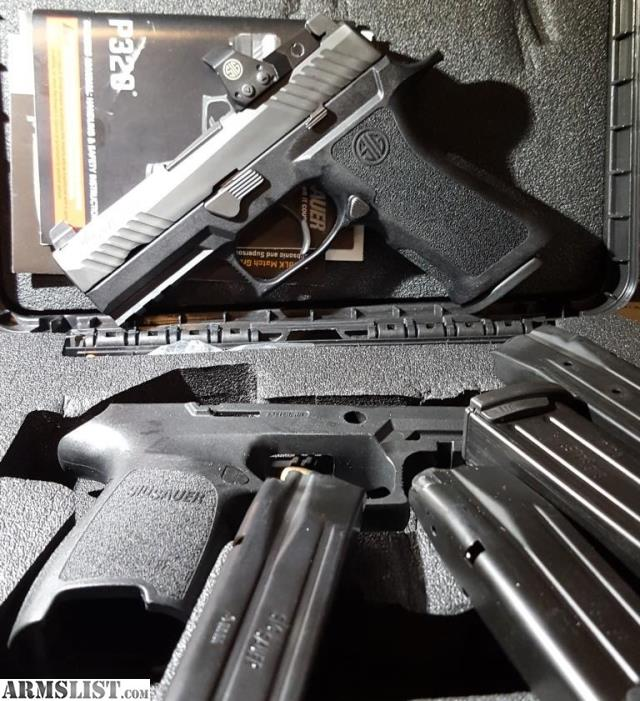 ARMSLIST - For Sale/Trade: Sig P320 RX Compact with extras