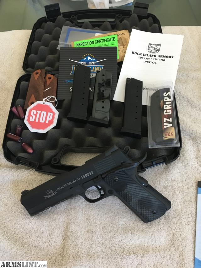 ARMSLIST - For Sale: Rock Island 1911 Tactical  45